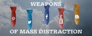 unplugging from weapons mass distraction